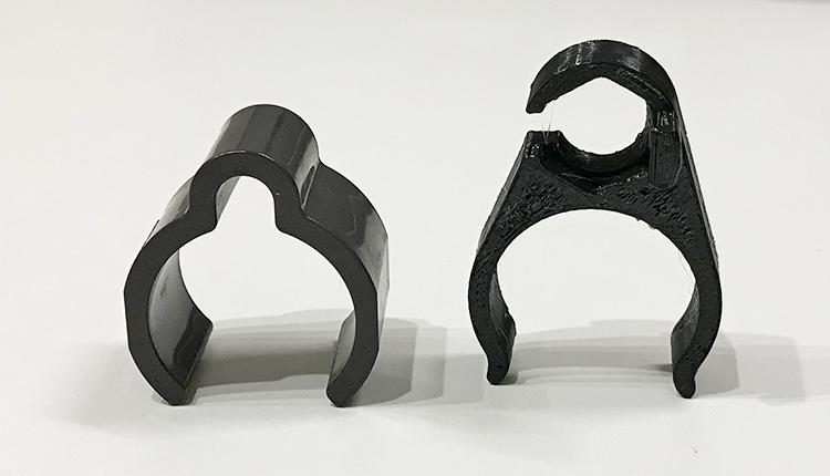 3Dプリント PETG スプレーノズルホルダ